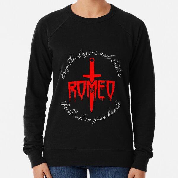 Deja caer la daga y enjabona la sangre en tus manos, Romeo Sudadera ligera