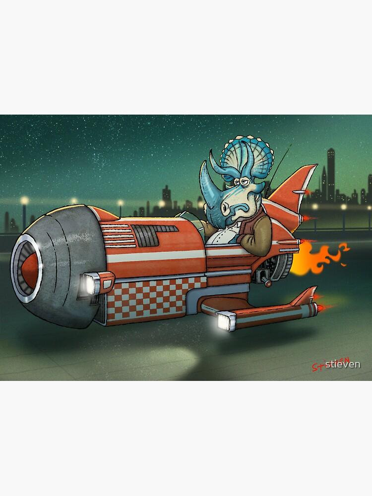 Spaceshiposaurus by stieven