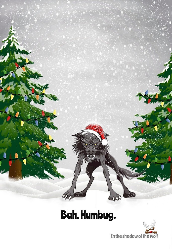Bah. Humbug. by WolfShadow27