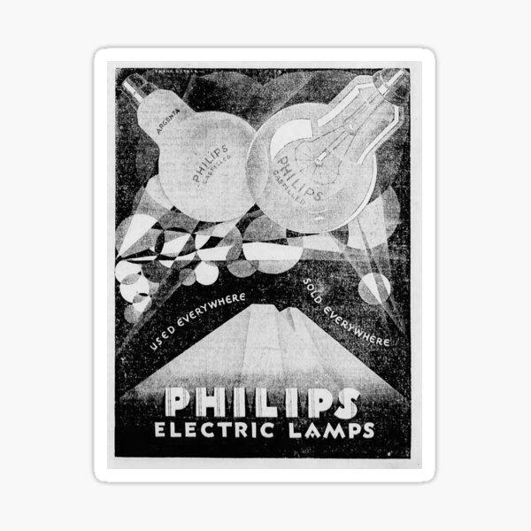 Philips advertisement 1928 Sticker