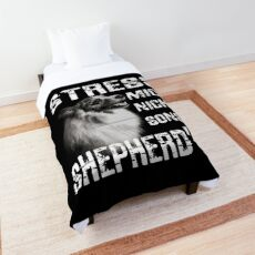 Don't bother me otherwise Shepherd's Aussie Shepherd Comforter