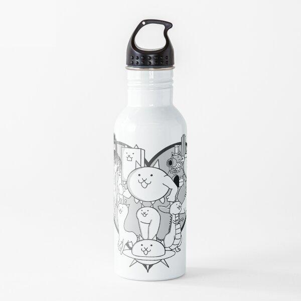Battle Cats Evolved Cats Mural Water Bottle