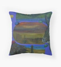 We Honor Easter From Coast to Coast Throw Pillow