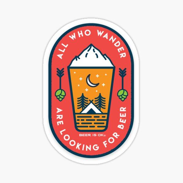 Wander for Beer Sticker