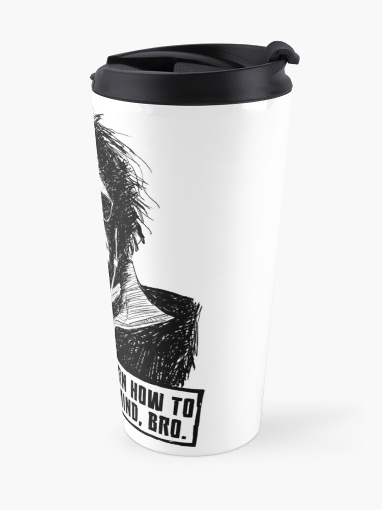 Alternate view of Man of a Thousand Faces (Silence Your Mind) Travel Mug