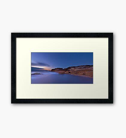 The Cliffs - Little Bay Framed Print