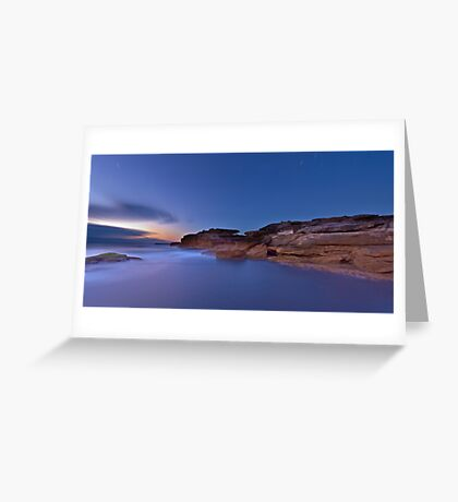The Cliffs - Little Bay Greeting Card