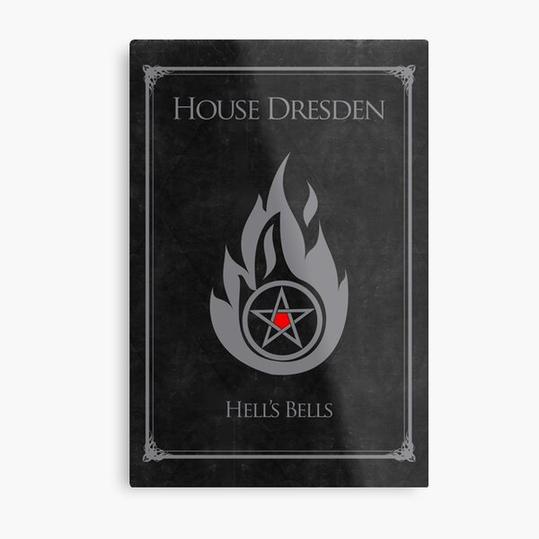 House Dresden - Hell's Bells Metal Print