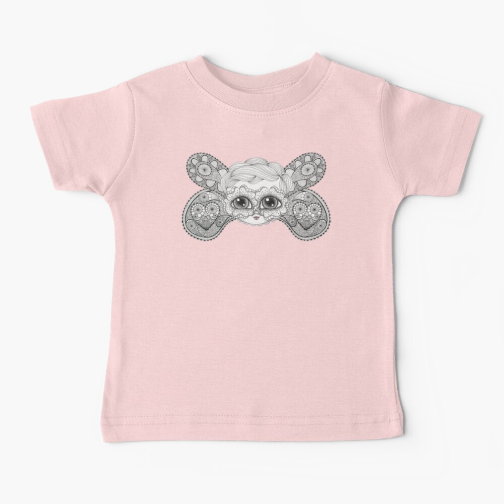 Butterfly Face Baby T-Shirt