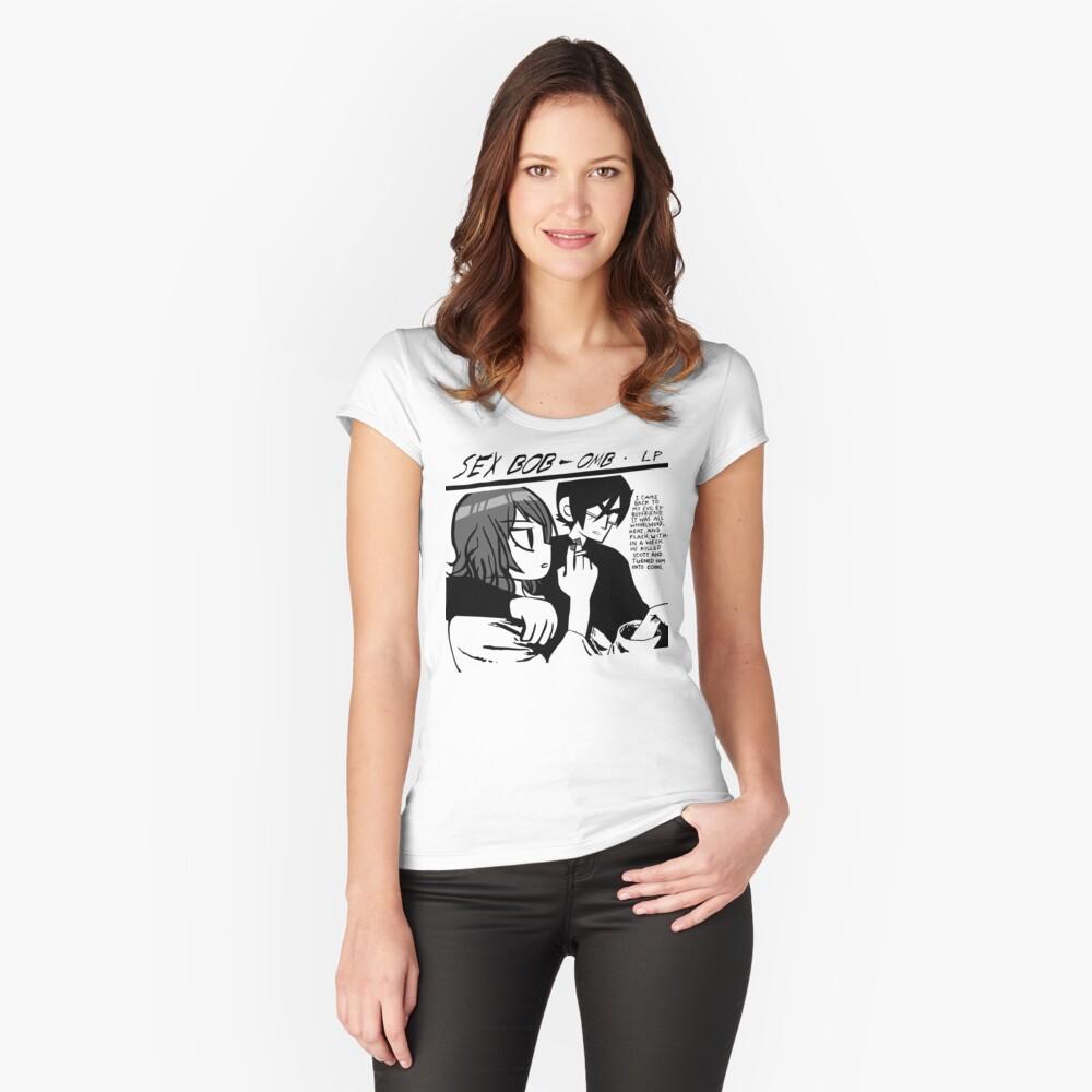Sexo Bob-Omb Camiseta entallada de cuello ancho