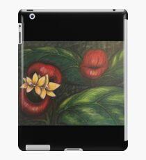 Floral Hellscape V iPad Case/Skin