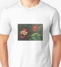 Floral Hellscape V Slim Fit T-Shirt