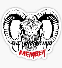 The Horror Hub  Sticker