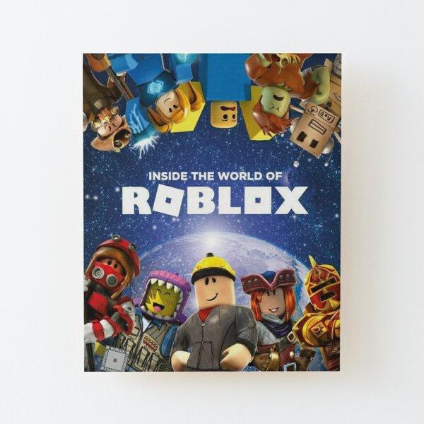 Dans le monde de Roblox - Jeux Impression montée sur bois