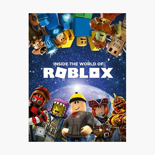 Inside the world of Roblox - Games Photographic Print