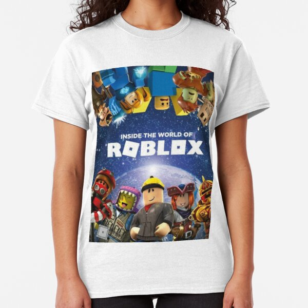 Inside the world of Roblox - Games Classic T-Shirt