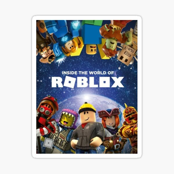 Inside the world of Roblox - Games Sticker