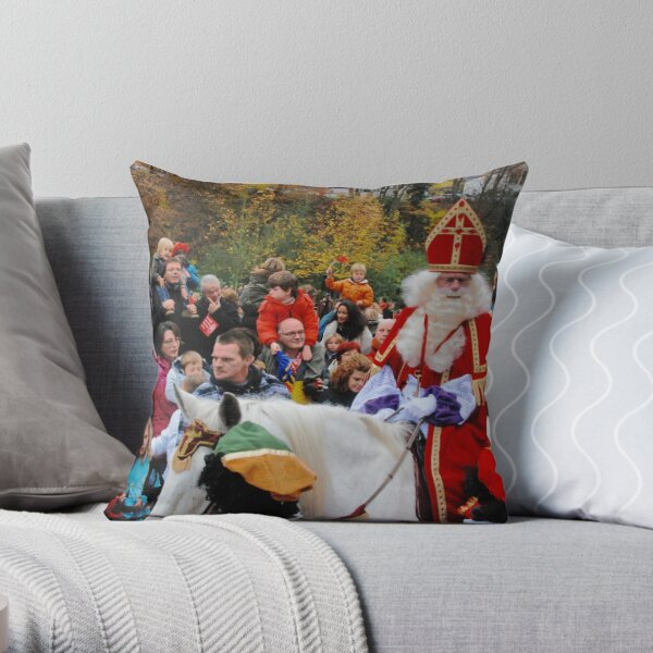 What would the Netherlands be without Sinterklaas? Throw Pillow