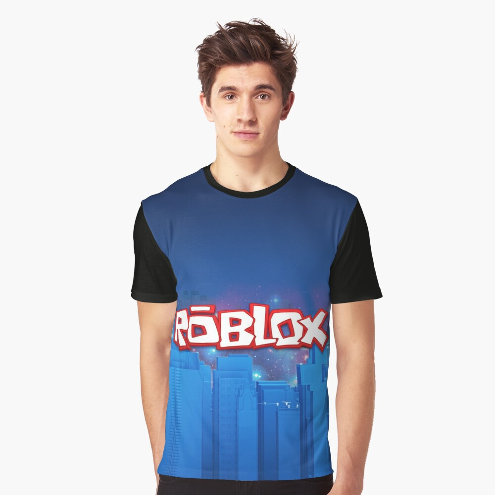 Blue T Shirt Roblox Roblox Games Blue T Shirt By Best5trading Redbubble
