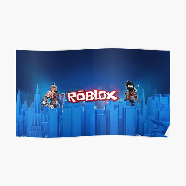 Roblox Games Blue  Poster
