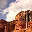 Chapel Of The Holy Cross by cymcgraw