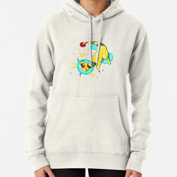 Ampharos Electric Bubbles Pullover Hoodie