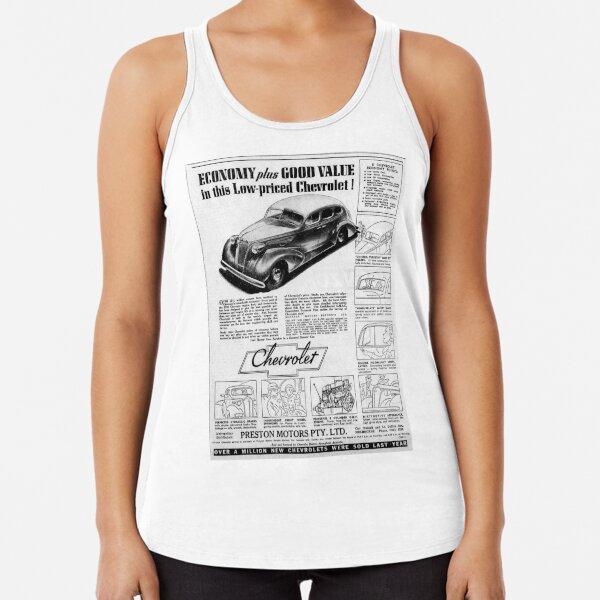 Chevrolet advertentie1937 Racerback Tank Top