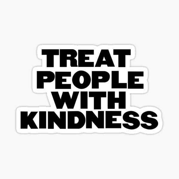 Harry Styles 'Fine Line, 'Treat People With Kindness' Sticker