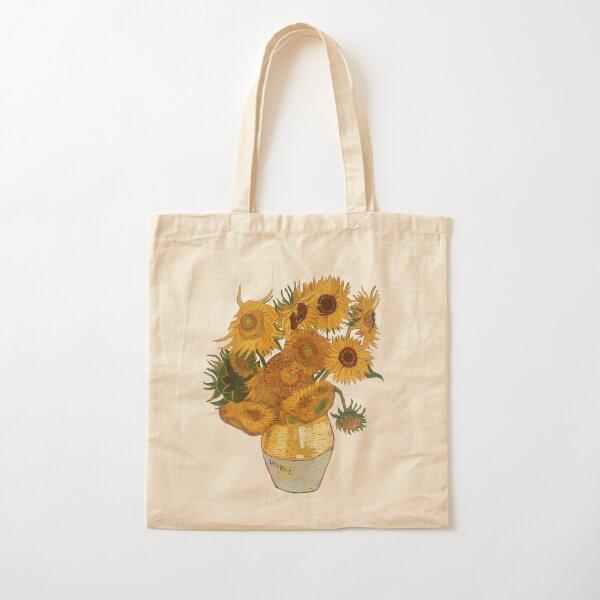 Van Gogh sunflowers Cotton Tote Bag