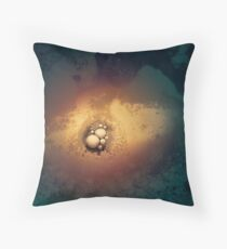 Solid. Liquid. Gas. Three Stages of Hell Throw Pillow