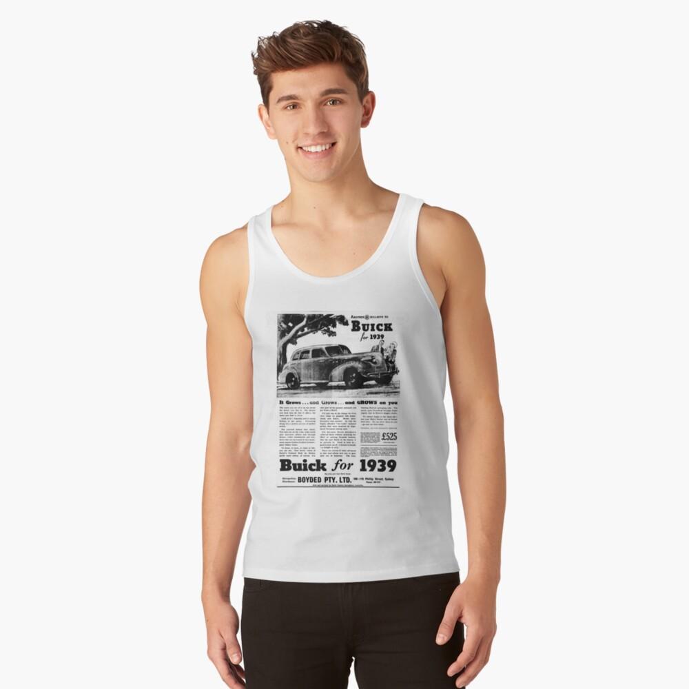 Buick ad 1939 Tank Top