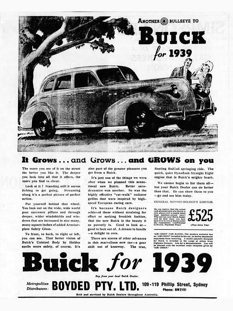 Buick ad 1939 by liesjes