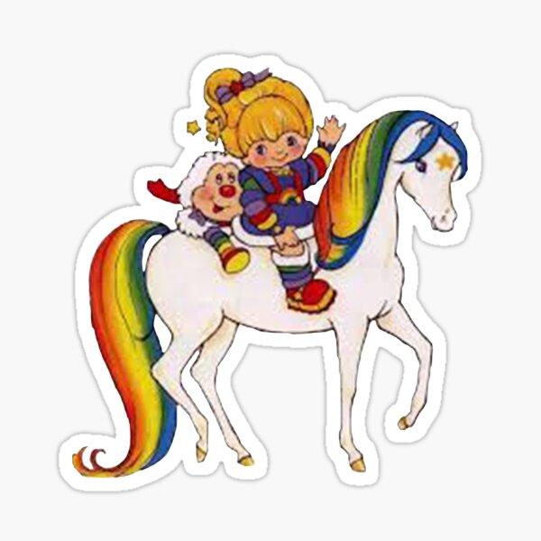 Rainbow bride& friends Sticker