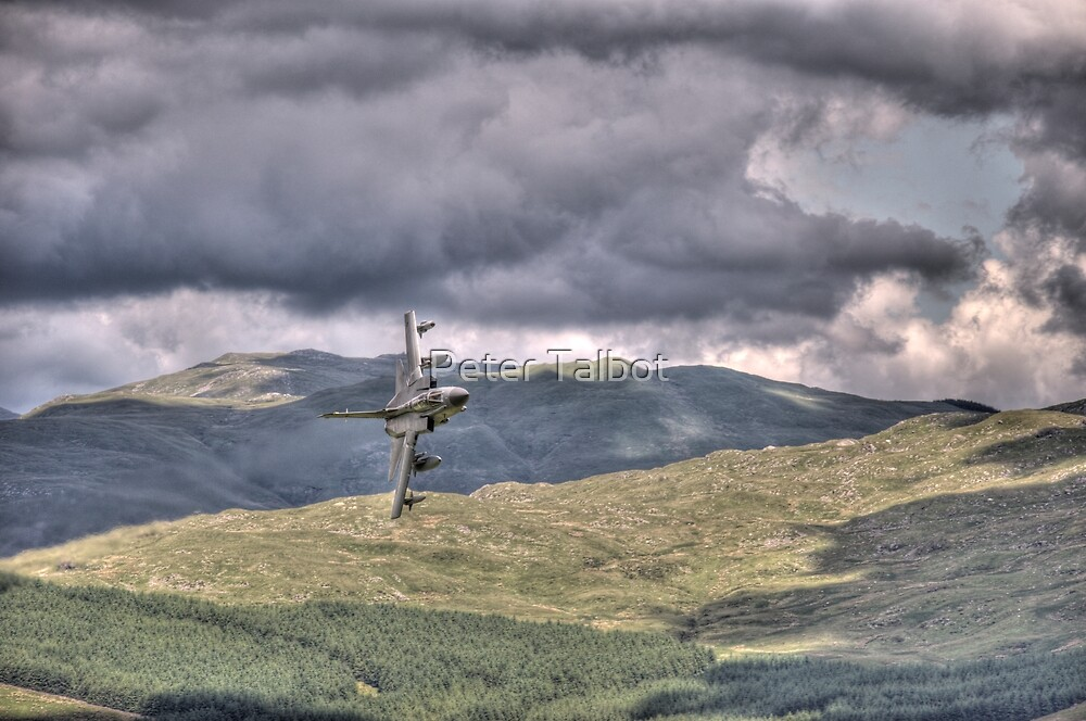 HDR Tornado GR4 Low level pass of CAD West by Peter Talbot