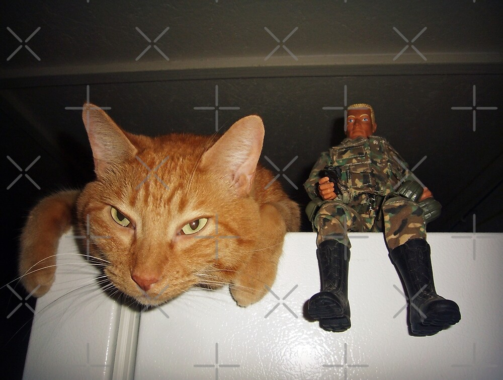 Frankie & Sgt. Major Joe by FrankieCat