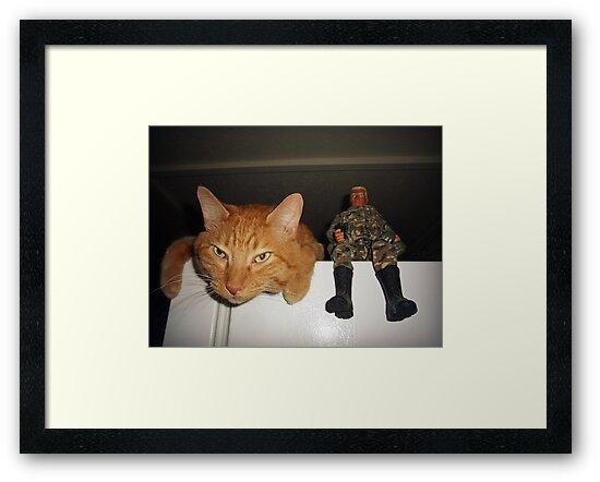 Frankie & Sgt. Major Joe by FrankieCat