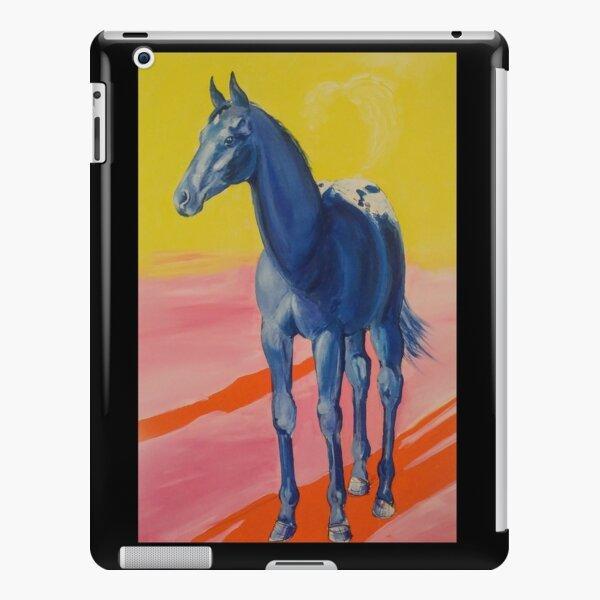The Appaloosa Colt in Blue iPad Snap Case