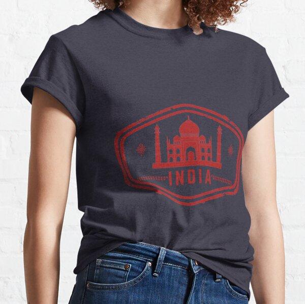 India Stamp Classic T-Shirt