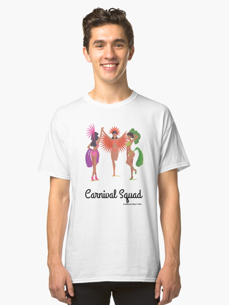 Alternate view of Carnival Squad Caribbean Carnival Classic T-Shirt