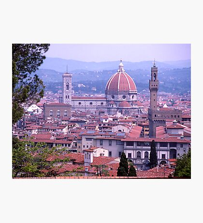 Skyline, Florence, Italy Photographic Print