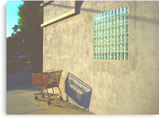 Shopping Cart - Burbank, CA by Barnewitz