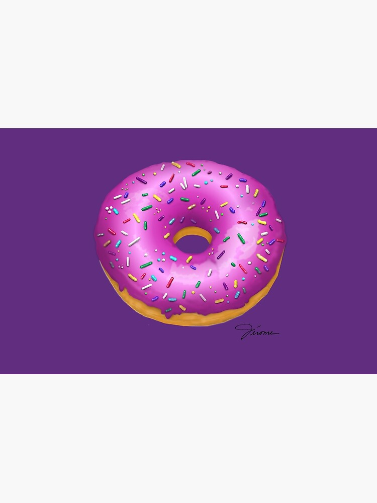 Sprinkled Pink Doughnut by Ruffmouse