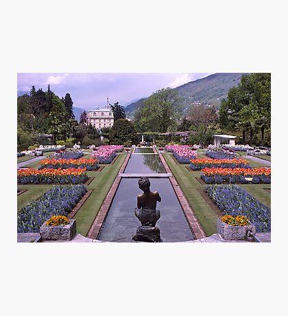 Villa Taranto, Pallanza, Lake Maggiore, Italy. Photographic Print
