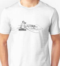 Mazooda_ChickWave_Black Slim Fit T-Shirt