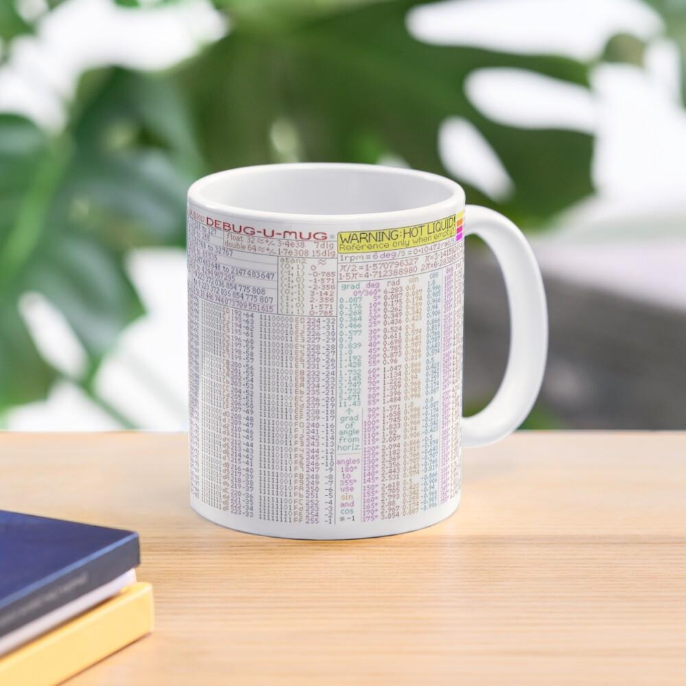 DEBUG-U-MUG. Programmers' Quick Reference Mug. Mug