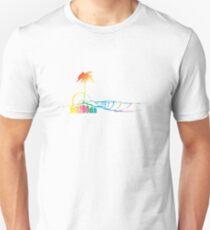Mazooda_Island_Rainbow Slim Fit T-Shirt