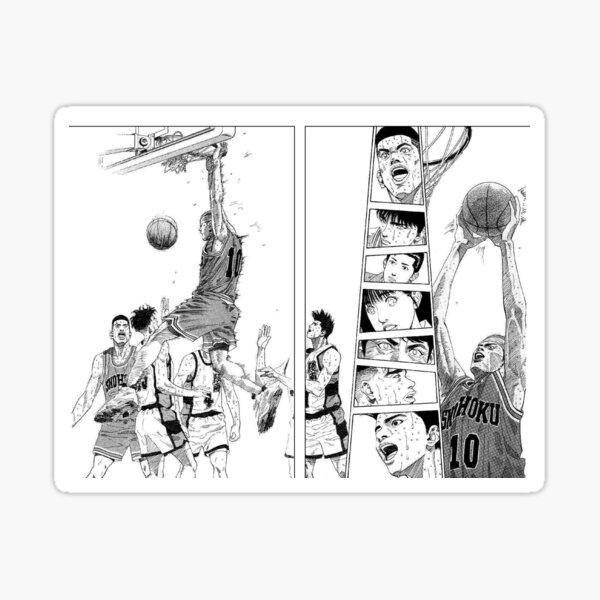 slam dunk board Sticker