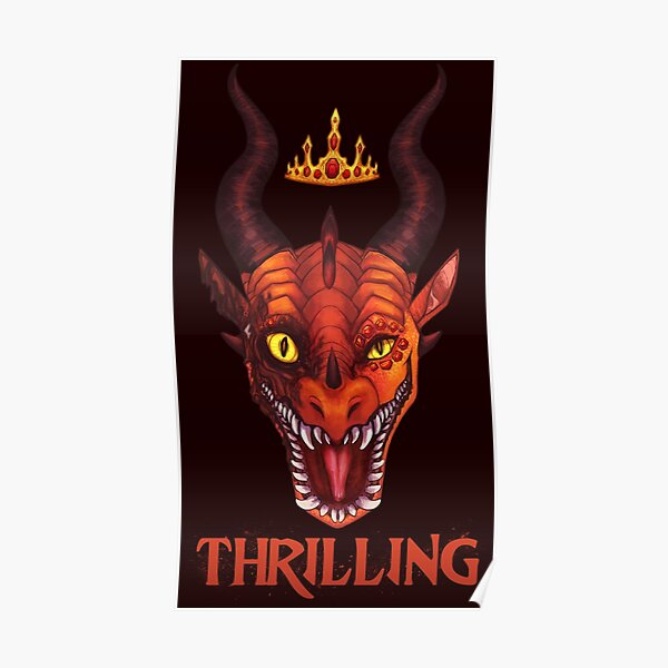 Wings of Fire - Queen Scarlet - Thrilling Poster