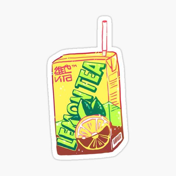 Lemon Tea Stickers Redbubble