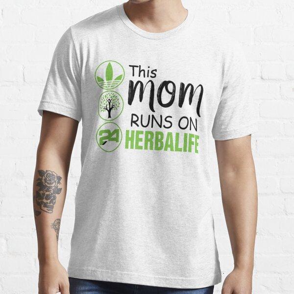 Esta mamá corre con la camiseta de Herbalife, Herbalife mom Shirt Camiseta esencial